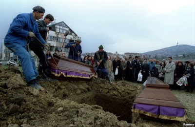 Bosko Brkic and Admira Ismic are buried in Lions Cemetery in Sarajevo..jpg